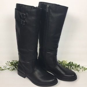 Kenneth Cole Reaction Black Knee High Boots EUC